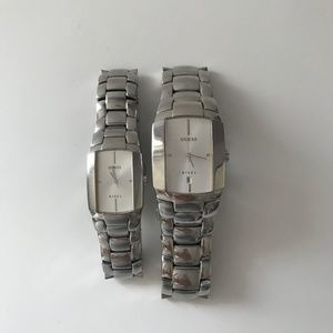 Guess Stainless Steel Men's & Women's Watches